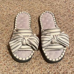 Women's Open Toe Slide Slippers